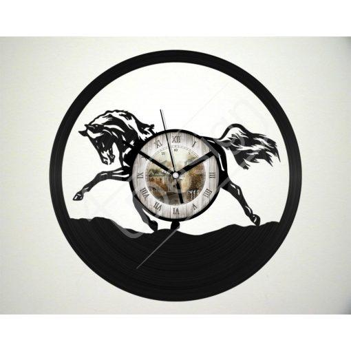 Ló hanglemez óra - bakelit óra