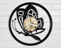 Pillangó hanglemez óra