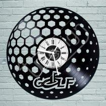 Golf hanglemez óra