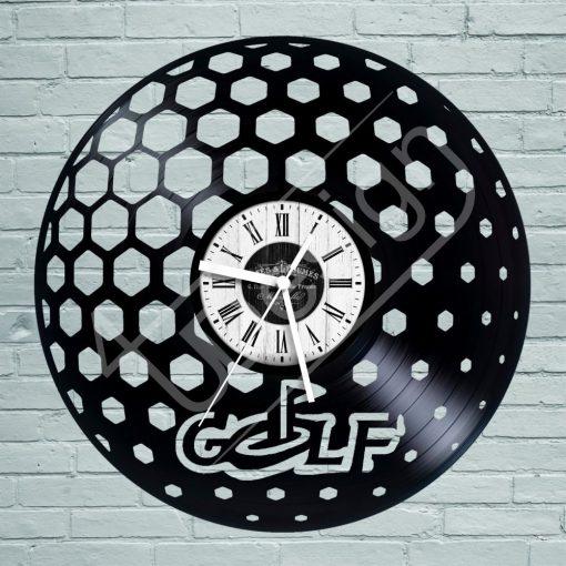 Golf hanglemez óra - bakelit óra