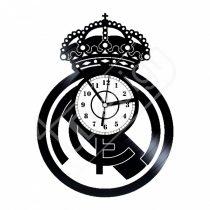 Real Madrid címeres hanglemez óra