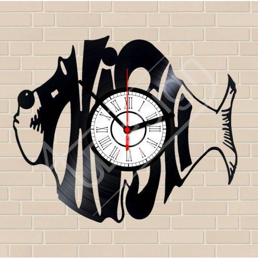 FISH hanglemez óra - bakelit óra