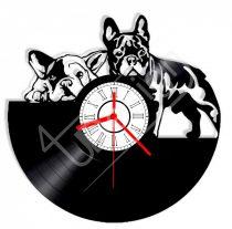 Kutyás hanglemez óra
