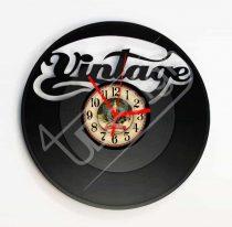 Vintage hanglemez óra