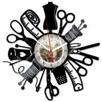 Szabó-varró hanglemez óra