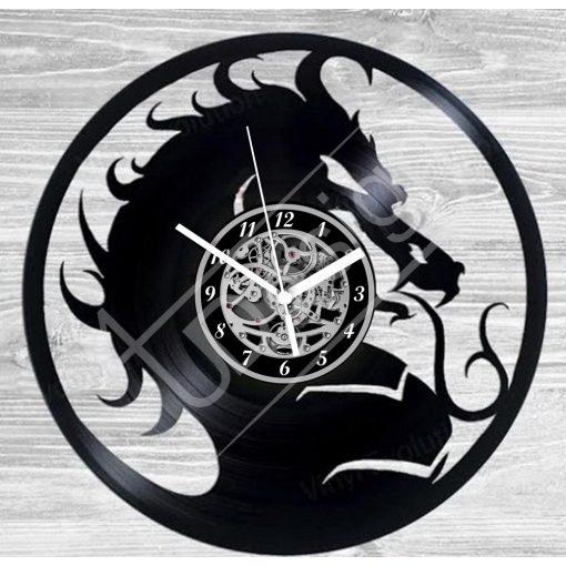 Sárkány hanglemez óra - bakelit óra