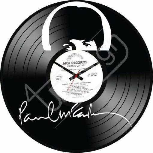 Paul McCartney hanglemez óra - bakelit óra