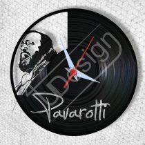 Pavarotti hanglemez óra