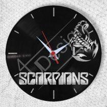Scorpions hanglemez óra