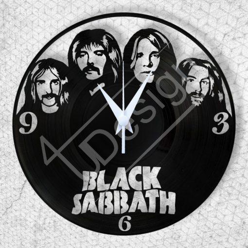 Black Sabath hanglemez óra - bakelit óra