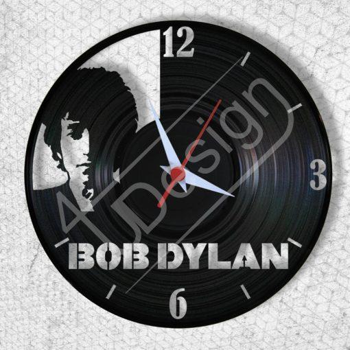 Bob Dylan hanglemez óra - bakelit óra