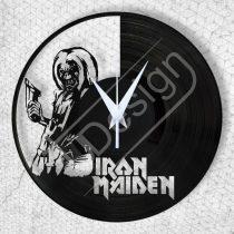 RK-Iron Maiden hanglemez óra