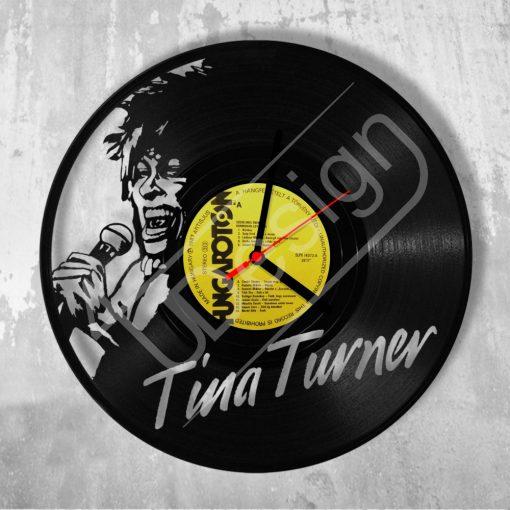 Tina Turner hanglemez óra - bakelit óra