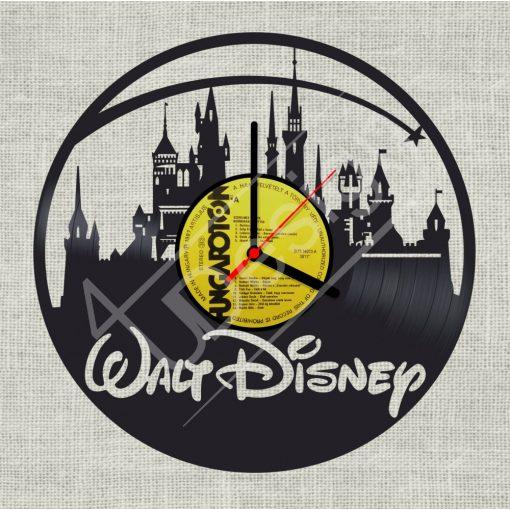 Walt Disney hanglemez óra - bakelit óra