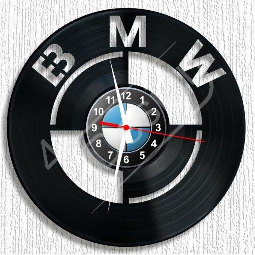 BMW hanglemez óra - bakelit óra