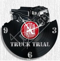 TATRA kamion hanglemez óra