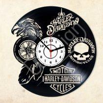Harley Davidson  hanglemez óra