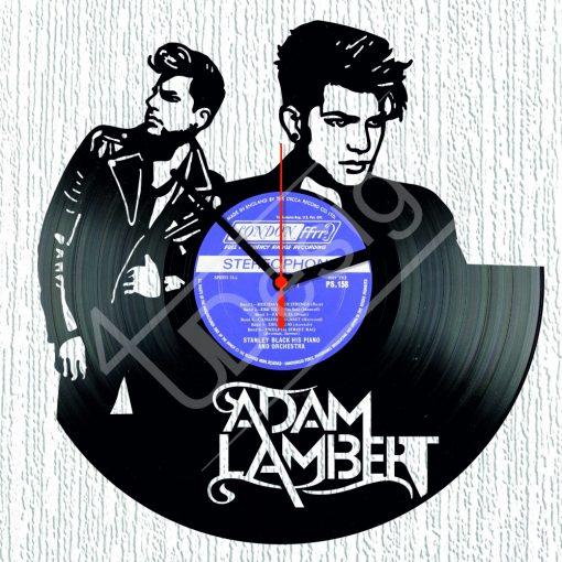Adam Lambert hanglemez óra - bakelit óra