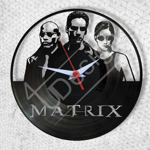 Mátrix hanglemez óra - bakelit óra