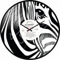 Zebra hanglemez óra