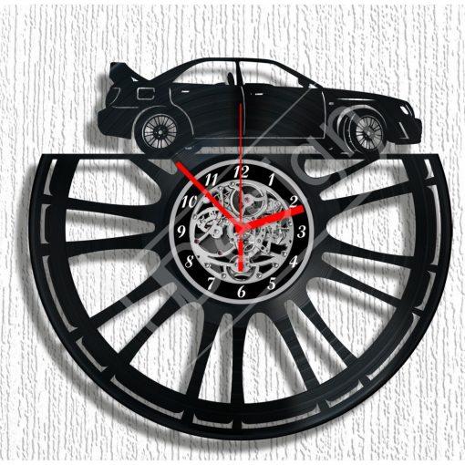 Subaru hanglemez óra - bakelit óra