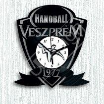 Kézilabdás Veszprém handball hanglemez óra