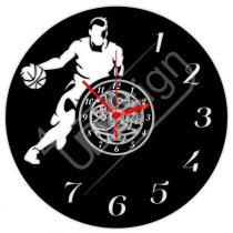 Kosárlabdás, kosaras hanglemez óra