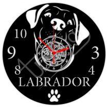 Labrador hanglemez óra
