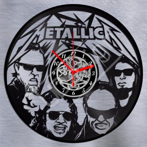 Metallica hanglemez óra - bakelit óra