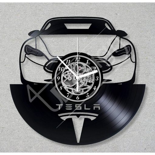 Tesla hanglemez óra - bakelit óra