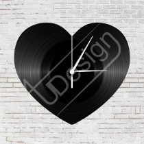 Szív hanglemez óra - OR9042505VI