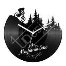 Mountain bike hanglemez óra