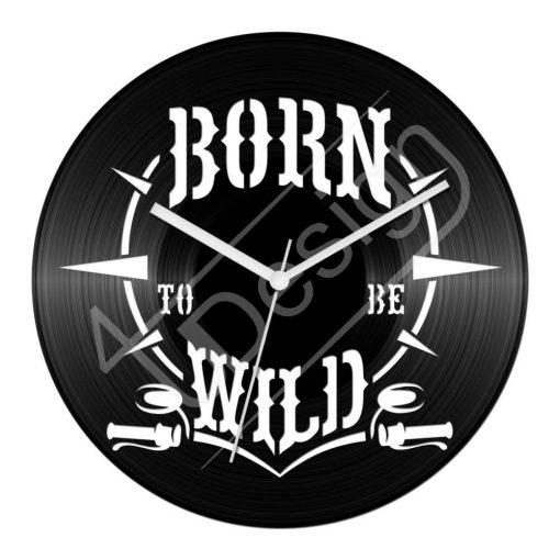 Born to be wild hanglemez óra - bakelit óra