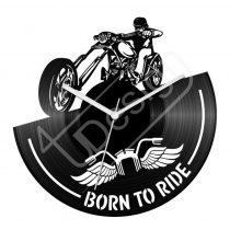 Born to be ride hanglemez óra