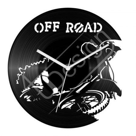 Off road hanglemez óra
