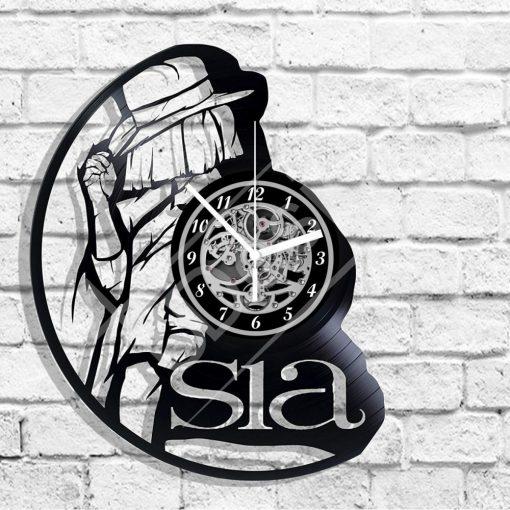 Sia hanglemez óra - bakelit óra