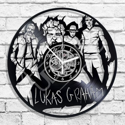 Lukas Graham hanglemez óra - bakelit óra