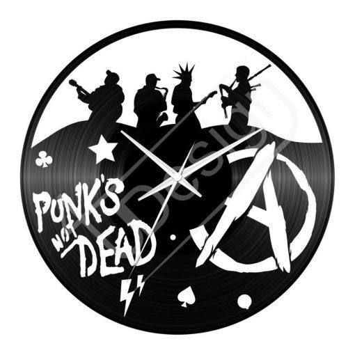 Punk hanglemez óra - bakelit óra