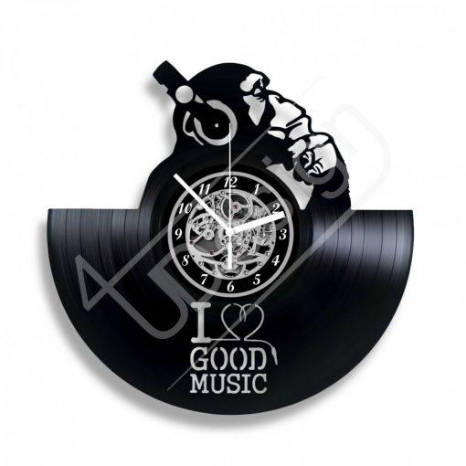 Good music hanglemez óra - bakelit óra