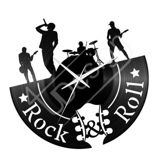 Rock & Roll hanglemez óra - bakelit óra