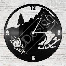 Jégkorcsolya hanglemez óra