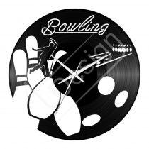 Bowling hanglemez óra